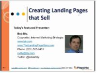 email marketing webinar landing pages